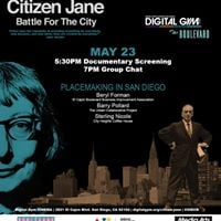 Digital Gym on the Blvd &quotCitizen Jane Battle for the City&quot