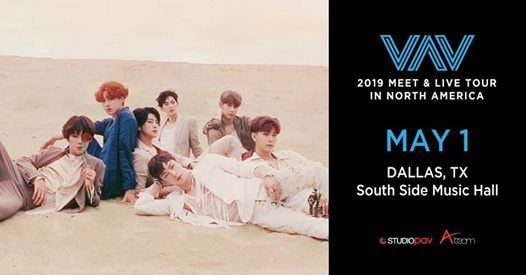 VAV 2019 Tour in North America - Dallas, TX at South Side