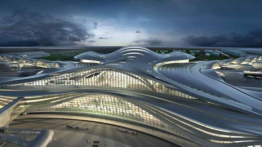 Midfield Terminal Complex (MTC) - Tour with the Architect at Abu