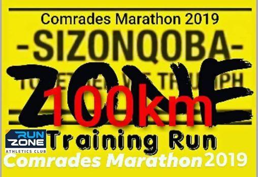 Zone 100km Comrades Training Run (Powered By RUN ZONE AC)