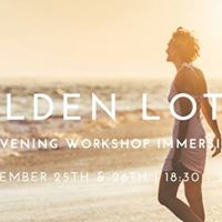 Golden Lotus Evening Immersion