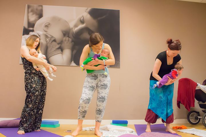 Mum and Baby Yoga Course with Rachel
