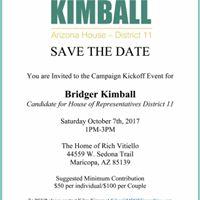 Kimball for Arizona Fund Raiser