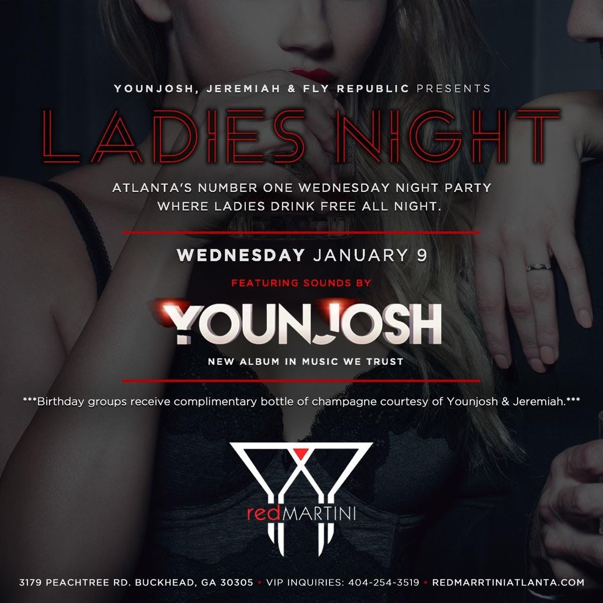 Atlantas 1 Ladies Night Party No Cover All Night For Everybody  Open Bar All Night For Ladies w Rsvp