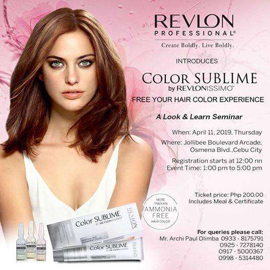 Revlon Professional introduces Color Sublime Cebu City