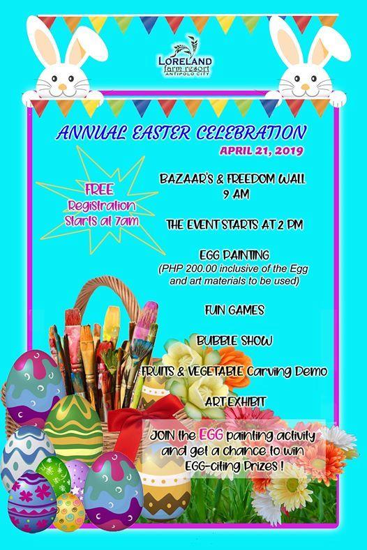 Annual Easter Celebration