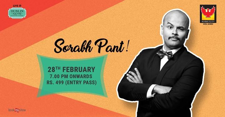 Sorabh Pant Live at Marketcity Mumbai