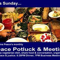 Peace Potluck &amp Meeting  September
