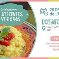 Workshop Cozinhando com Laticnios Veganos