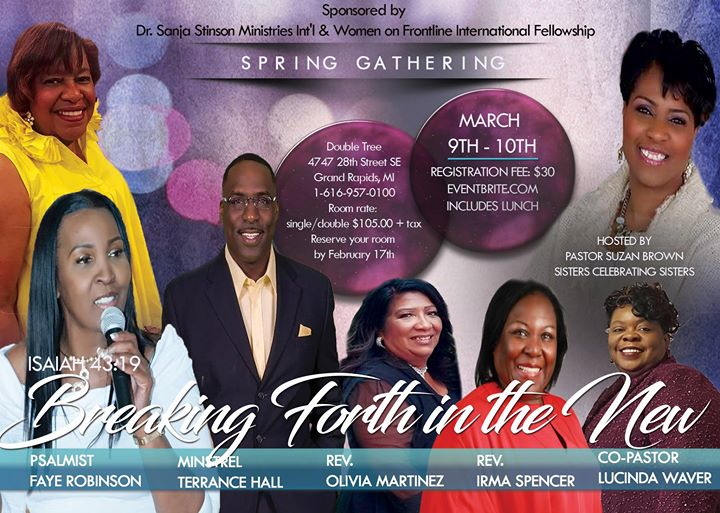 Women on Frontline Intl Fellowship -Spring Gathering