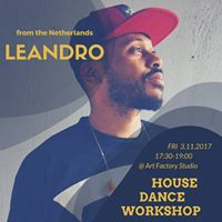 House Dance Workshop  Leandro (the Netherlands)