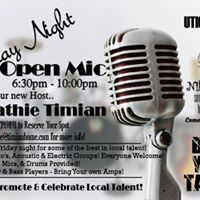 Friday Night Open Mic with Cathie Timian