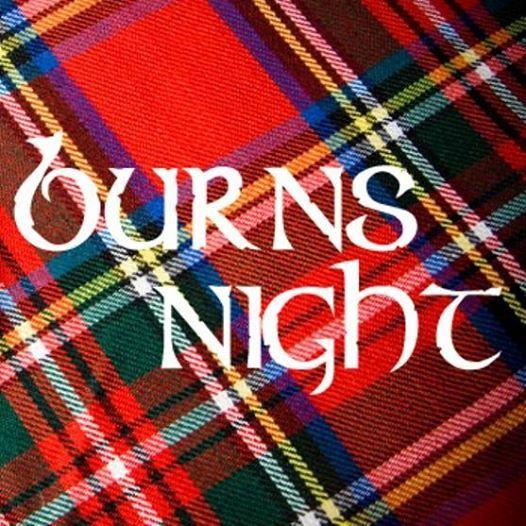 Burns Night Monday 25th Jan