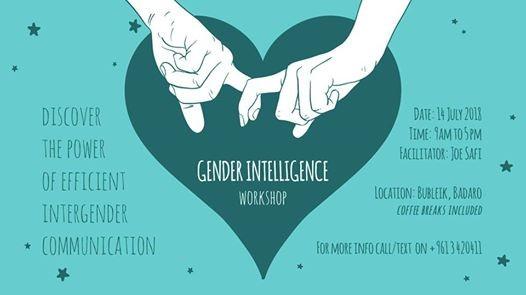 Gender Intelligence Workshop