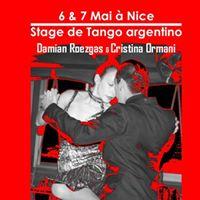Stage de Tango avec Damian Roezgas y Cristina Ormani