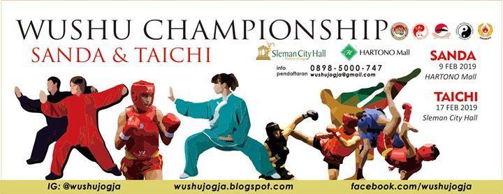 Wushu championship sanda dan taichi 2019