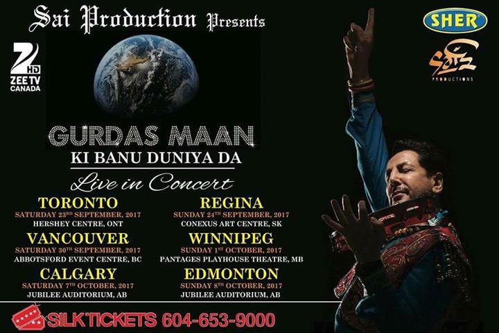 Gurdas Maan - Ki Banu Duniya Da - Live in Concert