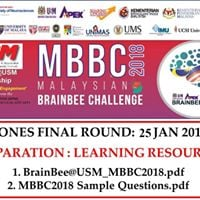 Malaysian Brain Bee Challenge (MBBC) 2018