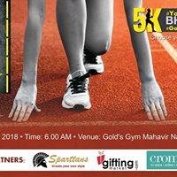BHAAG Golds Gym 5k run