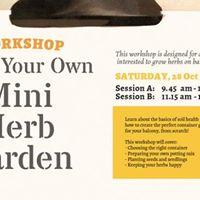 Workshop FULL Grow Your Own Mini Herb Garden