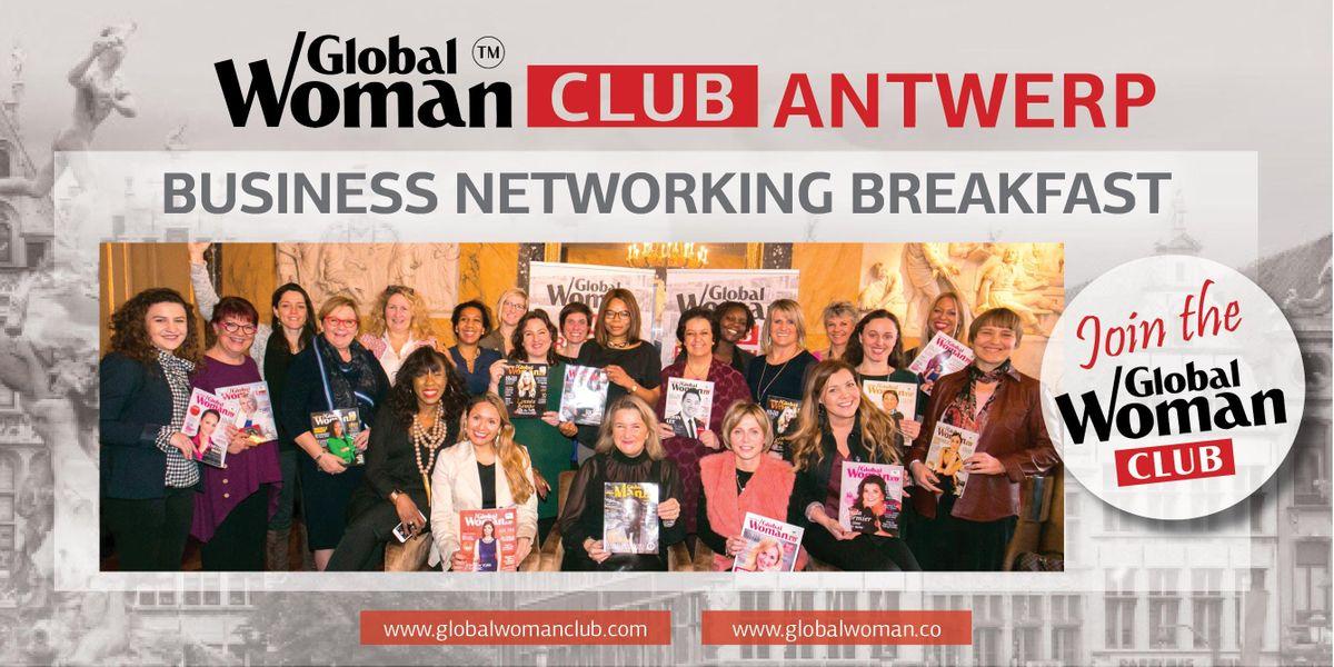 GLOBAL WOMAN CLUB ANTWERP BUSINESS NETWORKING BREAKFAST - JUNE