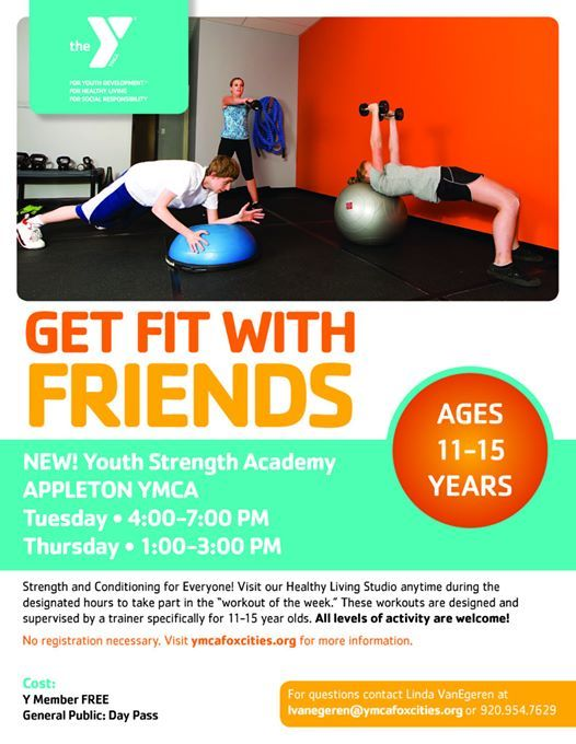 Youth Strength Academy-Appleton YMCA at YMCA of the Fox