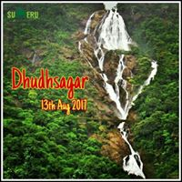 Sumeru Trekkers trek to Dudhsagar Waterfall on 12 &amp 13-08-2017