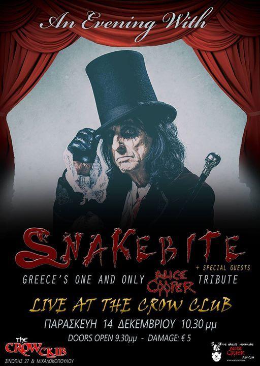 Snakebite Alice Cooper Tribute Band Live 14122018