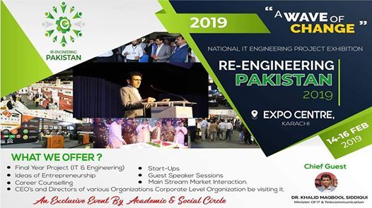 Re-Engineering Pakistan 19- Project Exhibition