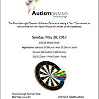 Dart Tournament Fundraiser
