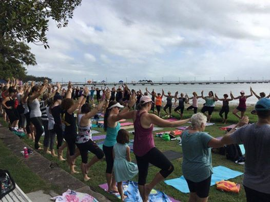 Outdoor Community Yoga - Bluewater Festival 2019
