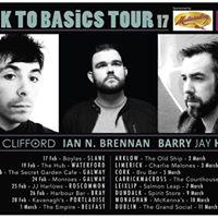 Back To Basics Tour  Harbour Bar Bray