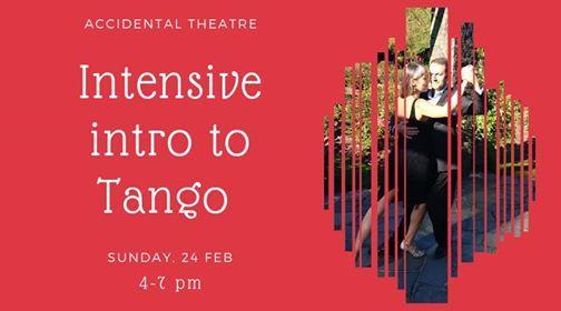 Intensive intro to tango