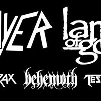 Slayer Lamb of God Anthrax - Penticton BC