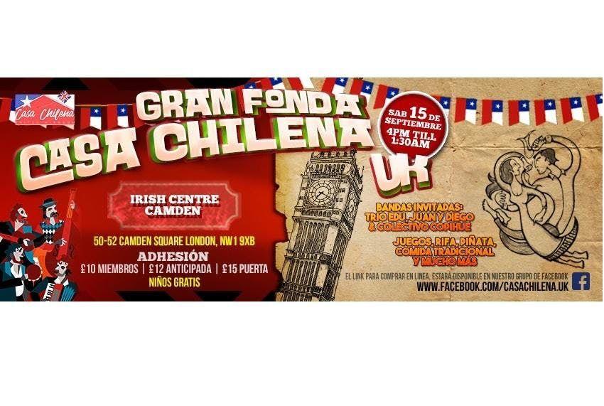 Gran Fonda Casa Chilena UK 2018