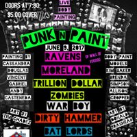 Punk n Paint Ravens Moreland Trillion Dollar Zombies and more