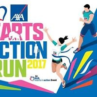 AXA Hearts In Action Run 2017