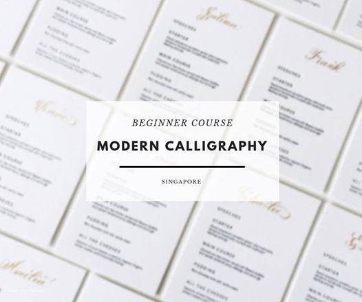 Beginner Modern Calligraphy Course - Singapore