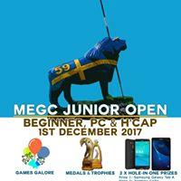 MEGC Junior Open - Beginner PC &amp HCAP