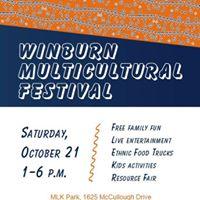 Winburn Multicultural Fest w Honeychild Abraham Mwinda &amp more