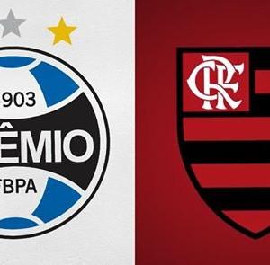 Grmio x Flamengo  Campeonato Brasileiro 17 rodada