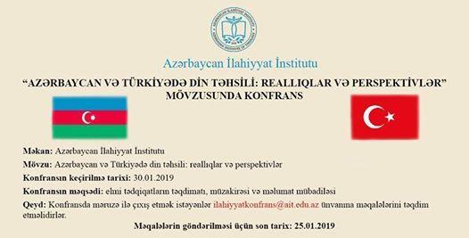 Azrbaycan v Trkiyd din thsili reallqlar v perspektivlr
