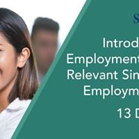 Intro to Employment Act &amp Relevant Singapores Employment Laws