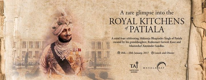 Royal Kitchens of Patiala