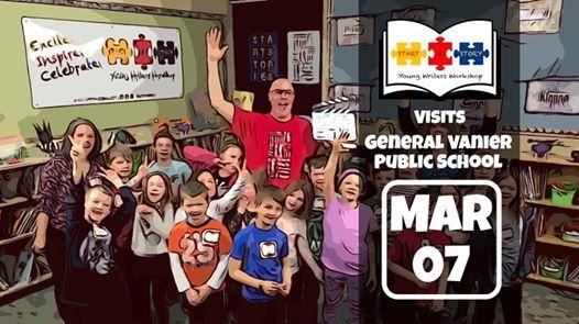 Start A Story visits General Vanier Public School