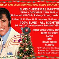 Elvis Presley Fan Club of Leeds present an Elvis Christmas Party