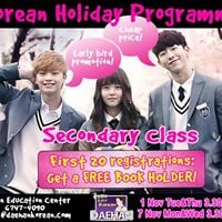 Secondary Students Korean Class