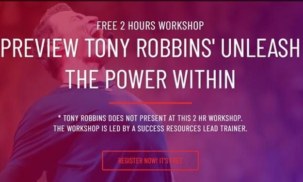 [FREE]Tony Robbins Unleash The Power Within Workshop