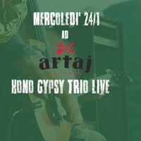 Hono Gipsy Trio Live