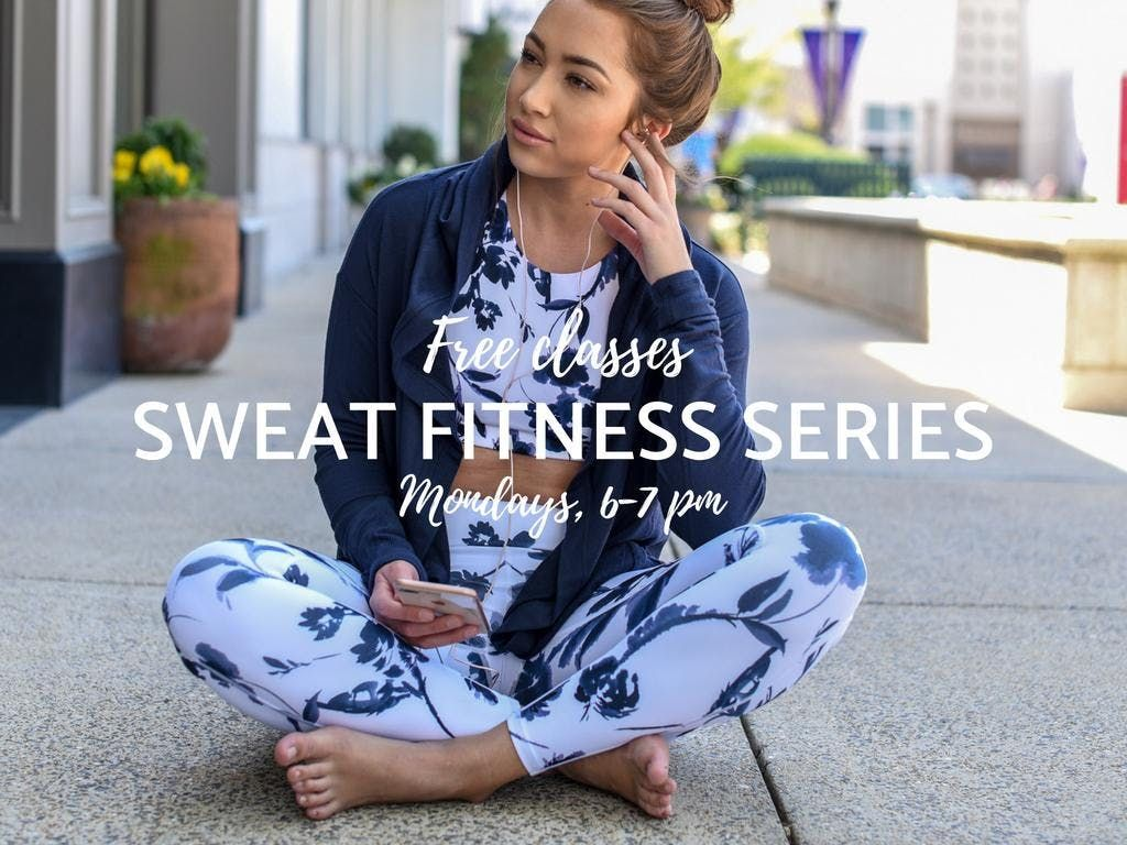 Sweat FREE Fitness Series Featuring Yoga